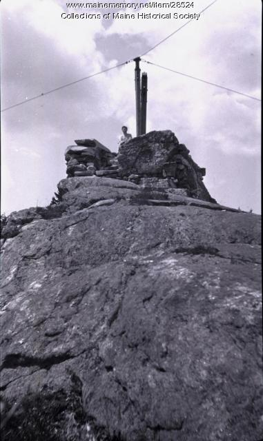 Reply Tower, Douglas Hill, Sebago, 1922