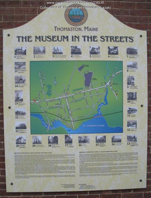 Museum in the Streets, Thomaston, Maine 2003