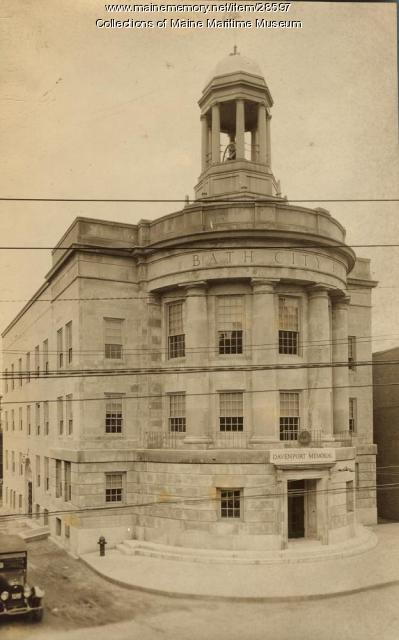 Davenport Memorial City Hall, Bath, 1929