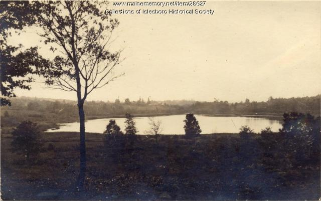 Meadow Pond, Islesboro, ca. 1900