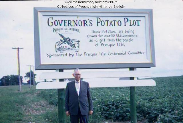 Governor's Potato Plot, Presque Isle, 1959