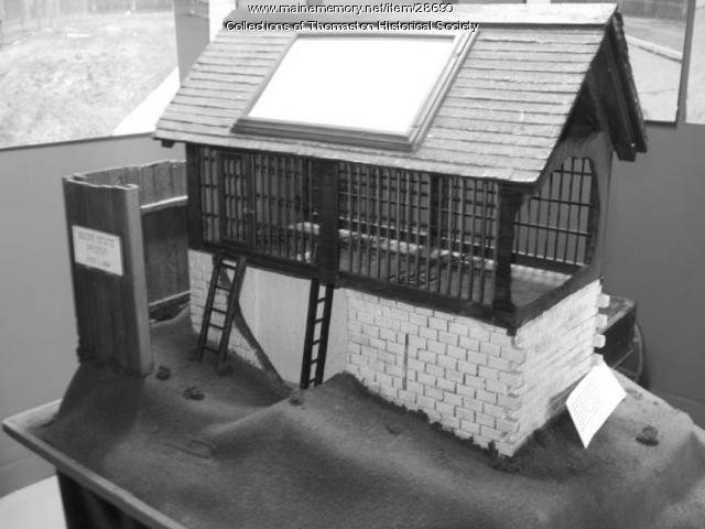 Maine State Prison Model, Thomaston, Maine