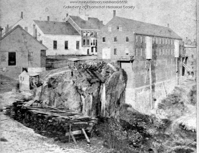 Quarry, State Prison, Thomaston, Maine c 1870