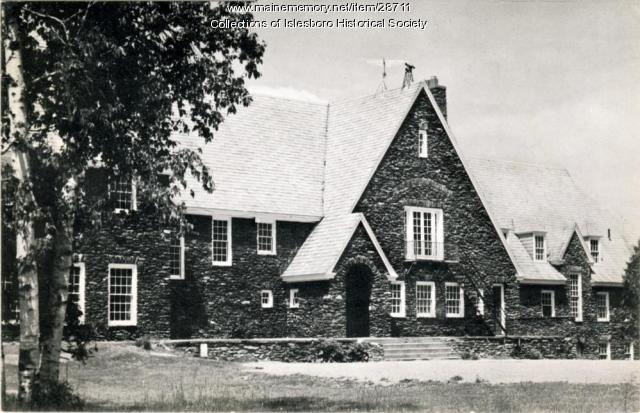 Islesboro Central School, ca. 1955