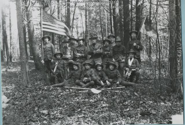 Boy Scouts, Saco, 1914