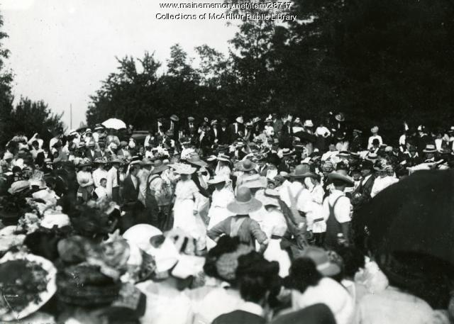 Dorcas Society Fair, Buxton, 1912