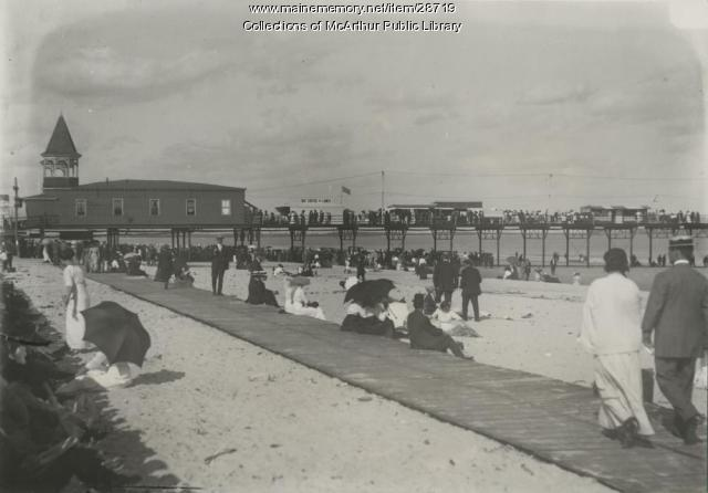 Boardwalk, Old Orchard Beach, 1912