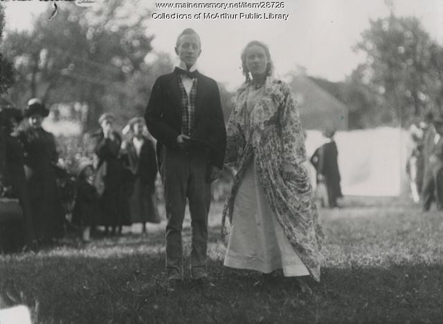 Dickens characters, Saco, 1912