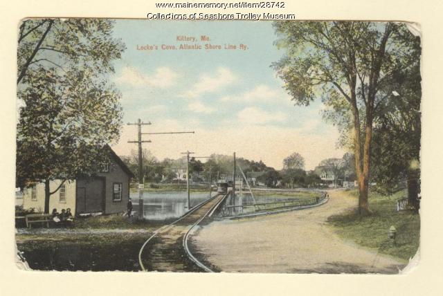 Locke's Cove, Kittery, Atlantic Shore Line Railway, ca. 1910