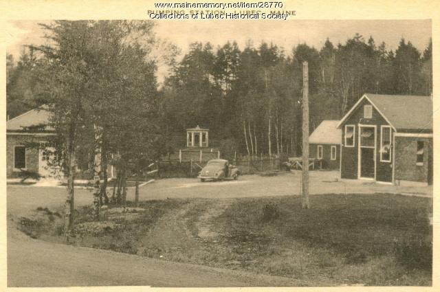 Water Pumping Plant, Lubec, ca. 1940