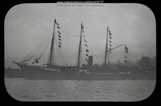 "The S.S. ""Roosevelt,"" ca. 1908"