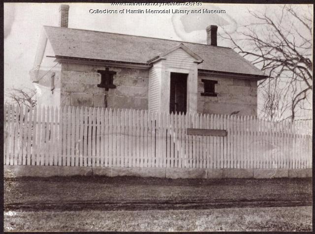 Oxford County Jail, ca. 1890