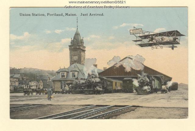 Union Station, Portland, ca. 1915