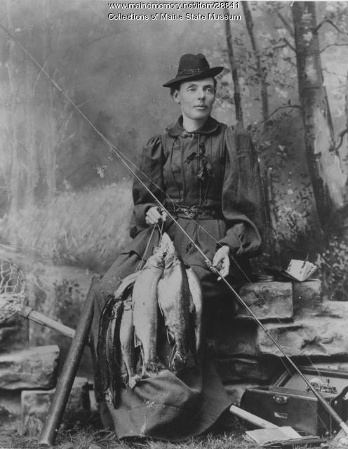 "Portrait of Cornelia ""Fly Rod"" Crosby"