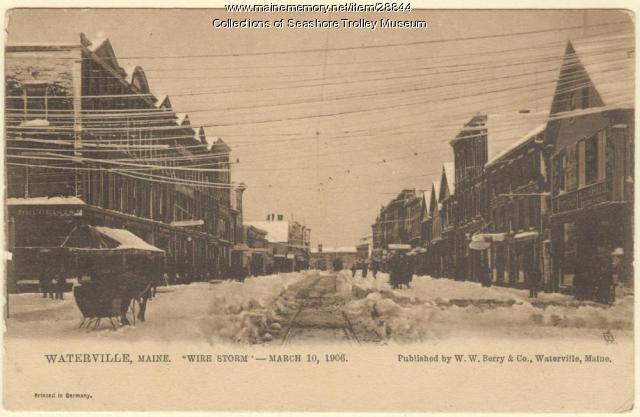 "Waterville, ""Wire Storm"" March 10, 1906"