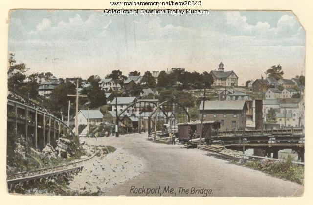 Rockport, The Bridge, ca. 1905