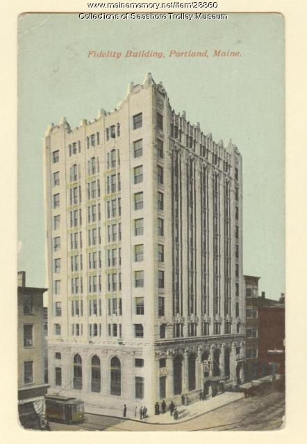 Fidelity Building, Portland, ca. 1907
