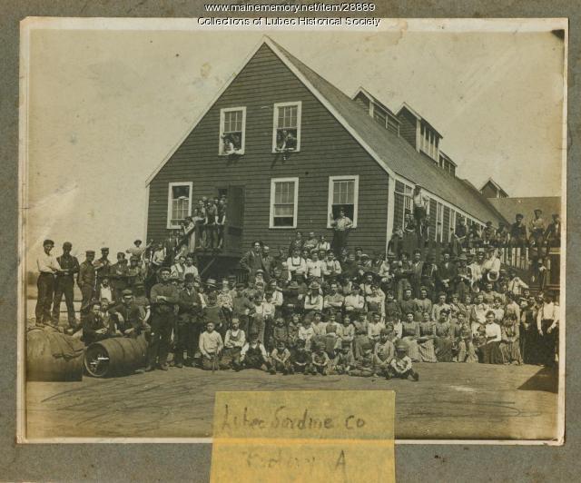 Sardine Canning Company, Lubec, ca. 1900
