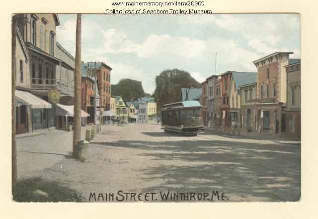 Main Street. Winthrop, ca. 1910