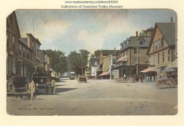 Main Street, Winthrop, ca. 1910