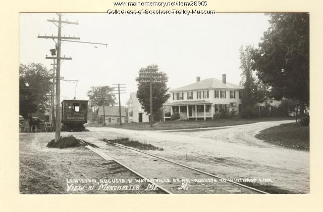 View at Manchester, ca. 1902