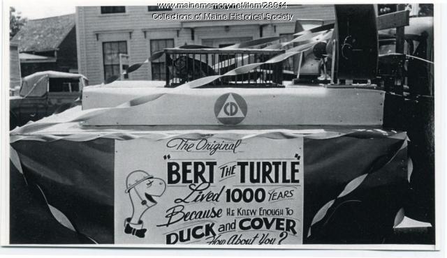 Bert the Turtle, Rockland, ca. 1957