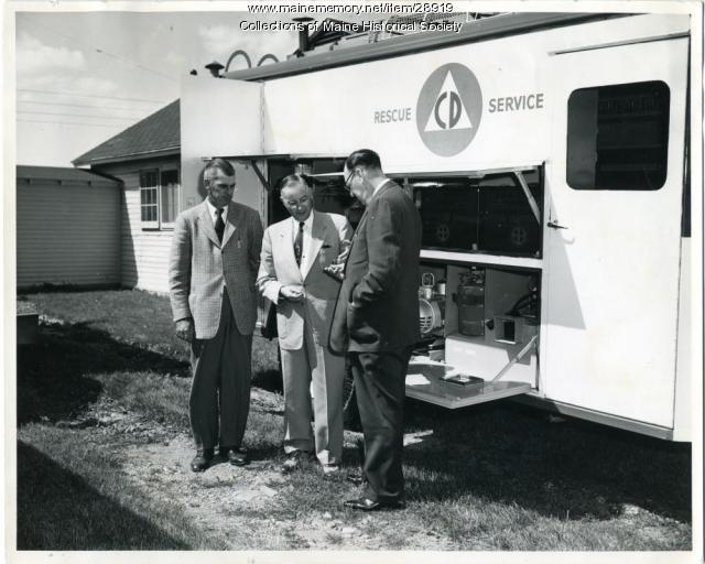 Maine Civil Defense Rescue Truck, 1954