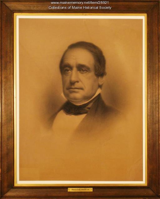 Hannibal Hamlin, 1860