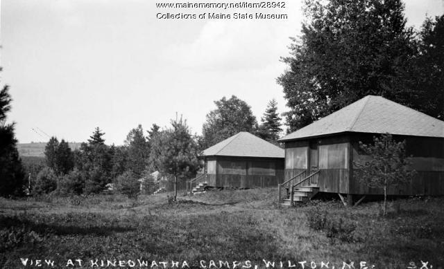 Kineowatha Camps, Wilton, ca. 1920