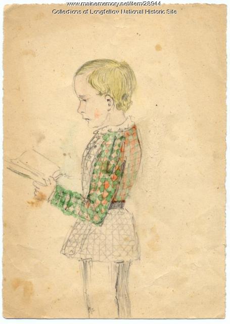 Ernest Longfellow, Cambridge, 1853