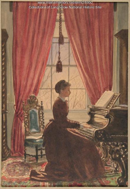 Alice Mary Longfellow, Cambridge, ca. 1870