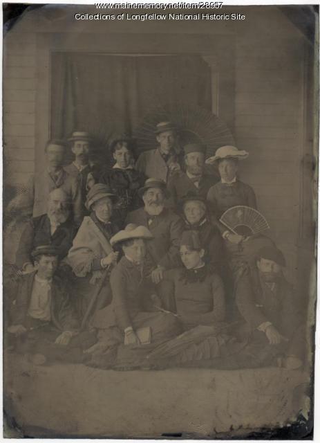 Alexander W. Longfellow and family, 1882