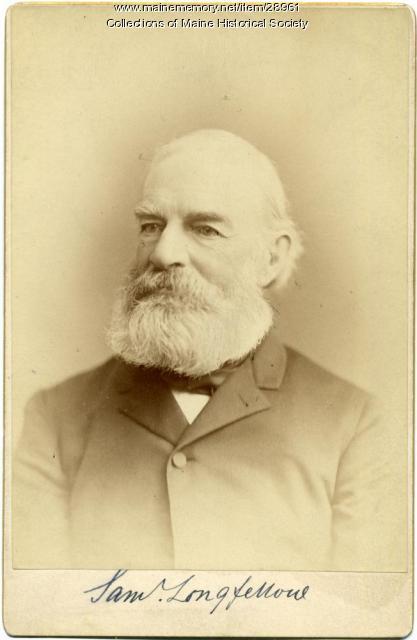Samuel Longfellow, Boston, ca. 1885