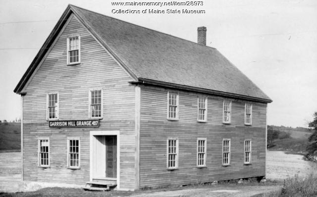 Garrison Hill Grange 497, Sheepscot Village, ca. 1920