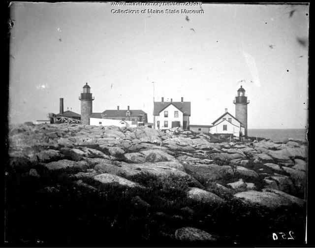 Matinicus Rock Lighthouse, Penobscot Bay, ca. 1910
