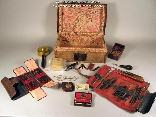 Medicine kit, Portland, ca. 1860