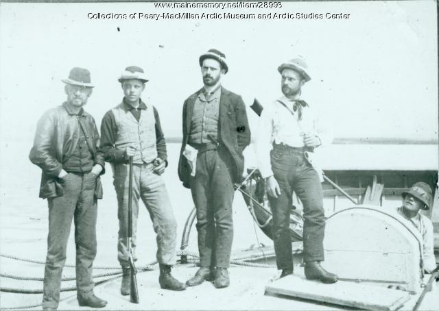 Grand Falls Expedition party, Labrador, 1891