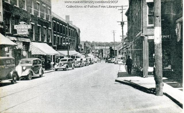 Looking North, Front Street, ca. 1950