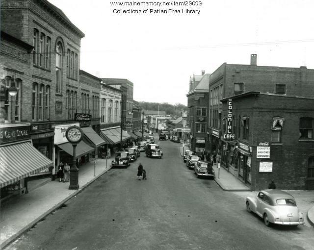 Front Street, Bath, Maine, late 1940s