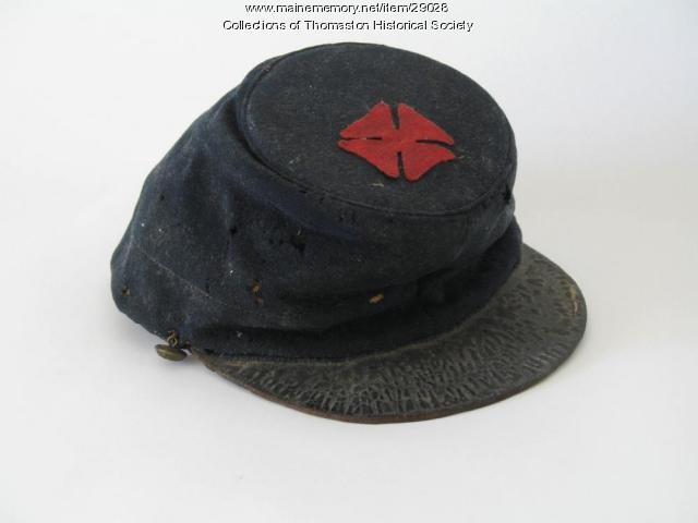 Civil War Union Cap worn by Perez Tilson