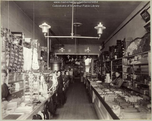 Tom Evans Department Store, Biddeford, 1899