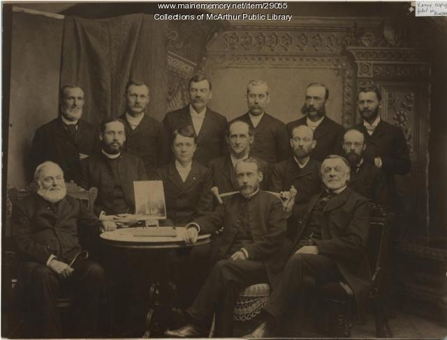 Reverends of Biddeford and Saco, 1895