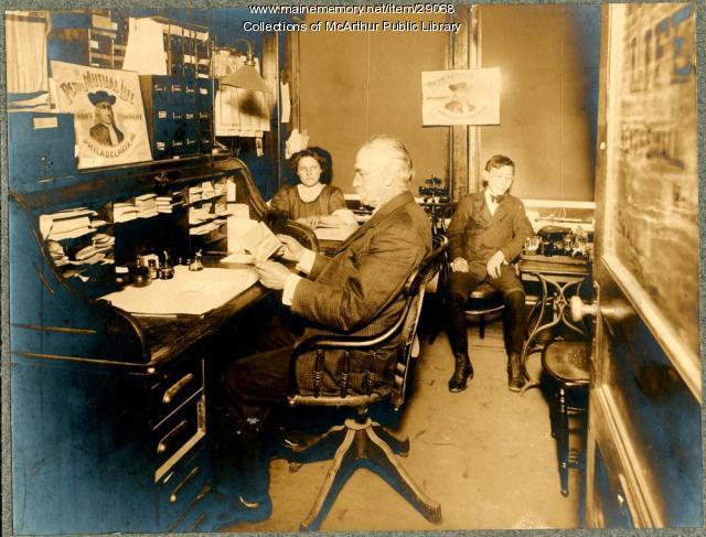 E. H. Gove Insurance Agency, Biddeford, ca. 1900