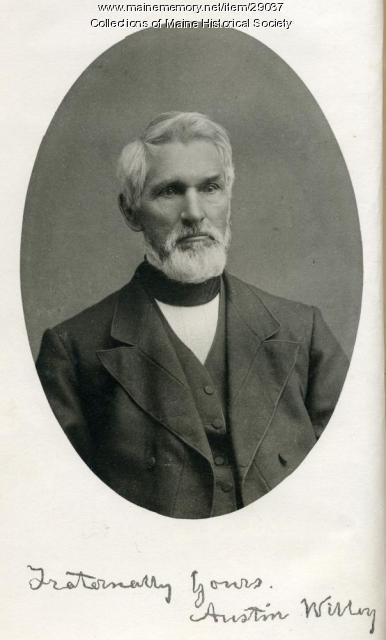 Austin Willey, Portland, ca. 1885