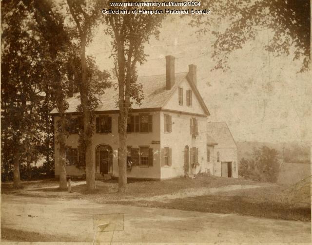 L. E. Norris house, Hampden ca. 1890