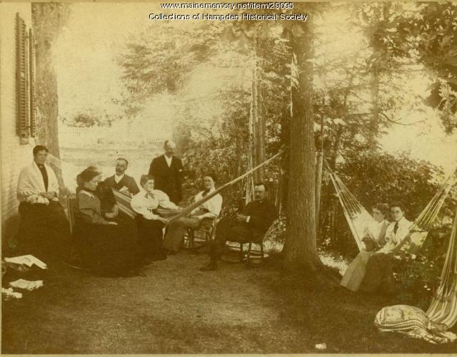 L. E. Norris, Hampden, ca. 1904