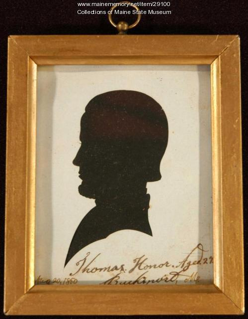 Thomas Honor, Bucksport, 1850