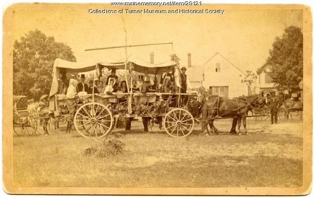 Old Folks Concert Troupe, Turner, 1886