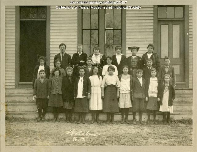 Turner Village School, 1915