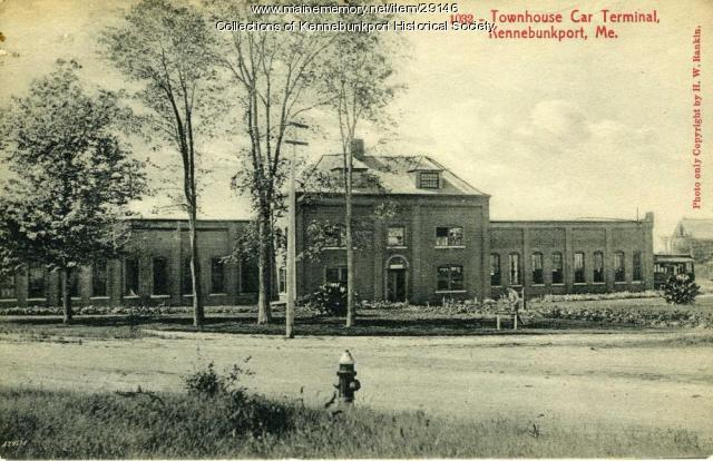 Town House Car Barn, Kennebunkport, ca. 1904